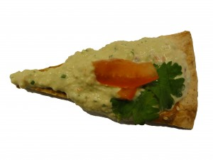 Guacamole med sesamships